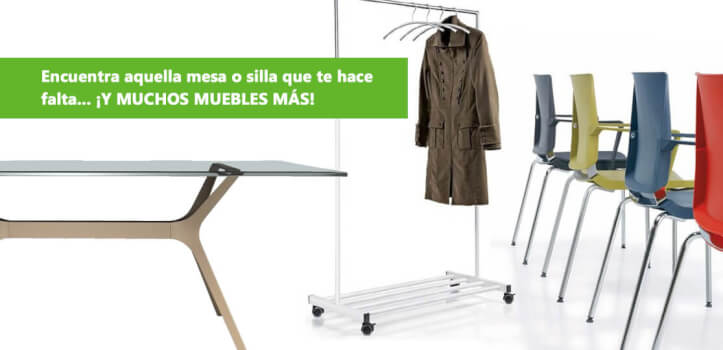 Mobiliario de oficina online con deskandsit descuento 7 for Muebles oficina online