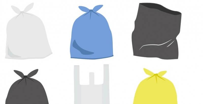 Las bolsas de basura