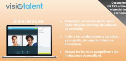 Licencias de entrevistas de selección de personal por vídeo live