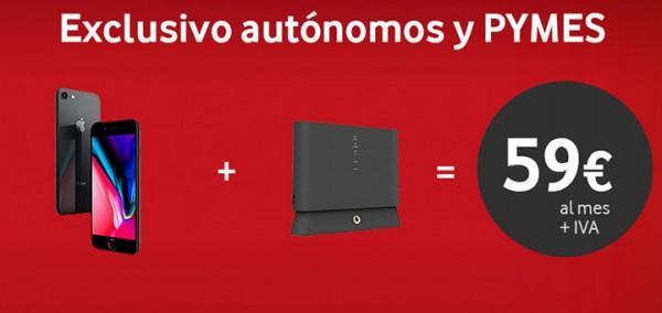 Pásate a Vodafone y llévate este fantástico Iphone 8
