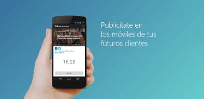 Publicítate en los móviles de tus futuros clientes con esta app