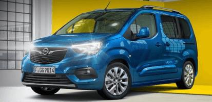 Renting de Opel Combo Life