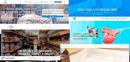 Página web corporativa en Wordpress con hosting y dominio