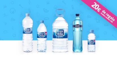 Disfruta de agua Font Vella en tu oficina