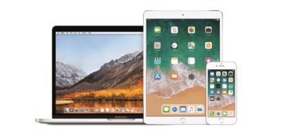 Renting de MacBook Pro 13 + iPad Pro 10,5 + iPhone 8