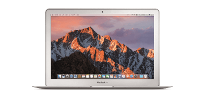 Renting de MacBook Air
