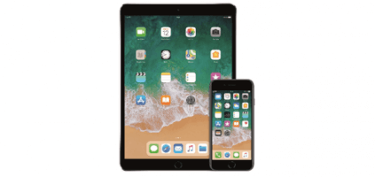 Renting de iPhone 8 + iPad Pro 10,5