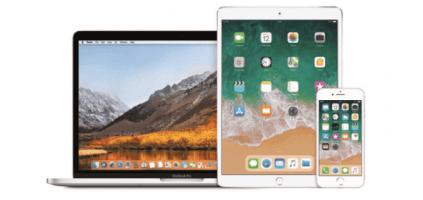 Renting de MacBook Pro 13 + iPad Pro 10,5 + iPhone 8