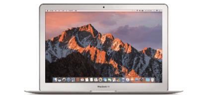 Renting de MacBook Air