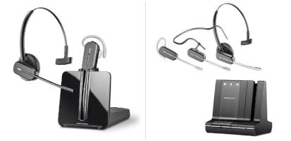 Auriculares inalámbricos Plantronics CS540 y Savi W740