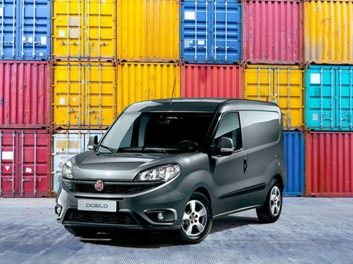 Renting furgoneta Fiat Doblo