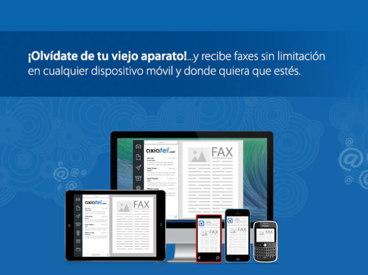 Fax por mail + telefonía IP +  centralita virtual
