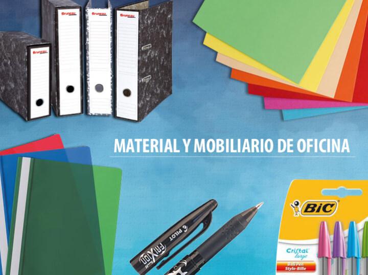 Renueva el material y mobiliario de oficina al mejor precio