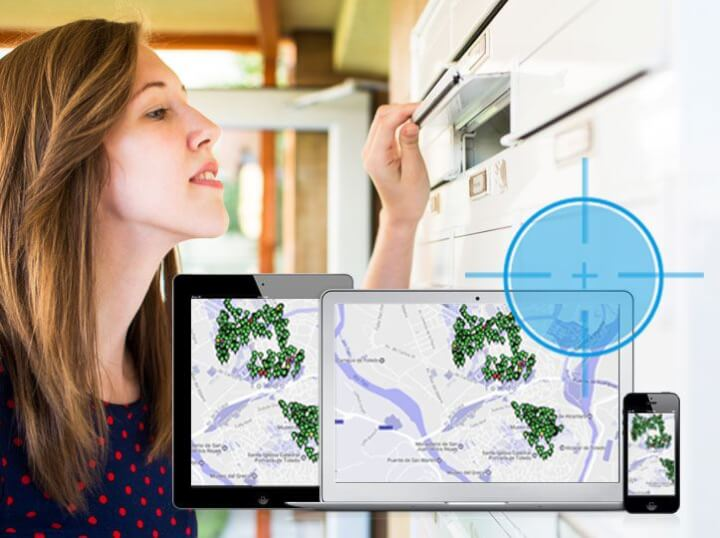 Campañas de buzoneo con control GPS en Toledo