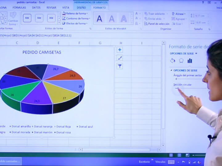 Cursos online interactivos de Excel intermedio y avanzado