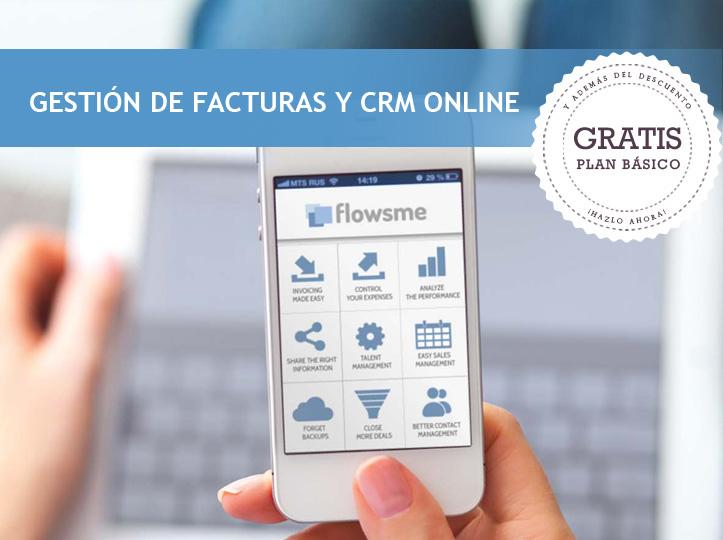 CRM + software de facturación en una sola herramienta