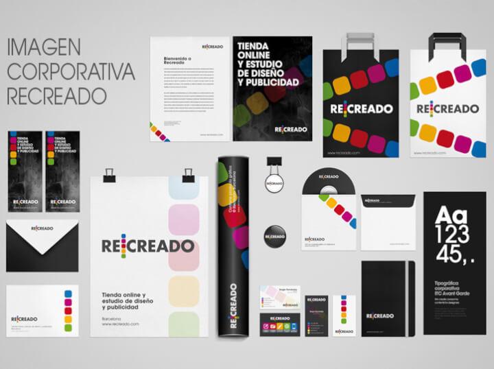 Pack de Diseño gráfico para la imagen corporativa de tu negocio