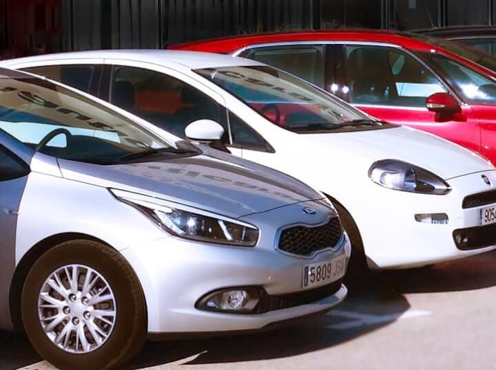 Alquiler de coches de prepago en Cataluña
