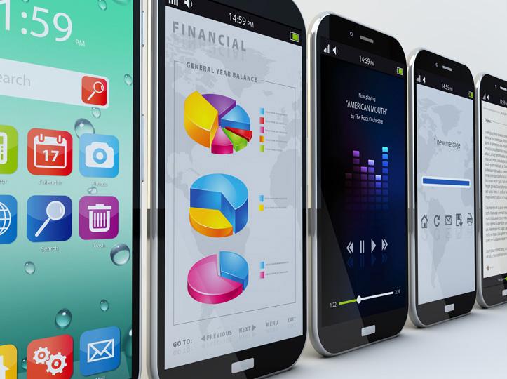 Aplicaciones móviles para iOS y Android