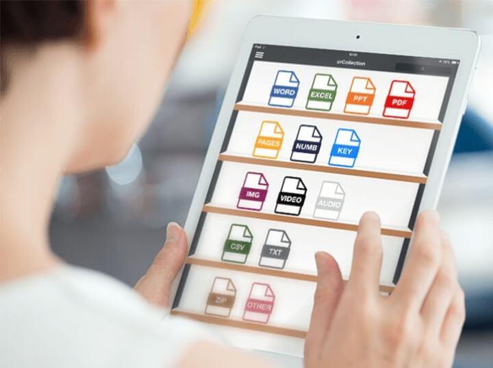 App de gestión documental para equipos comerciales