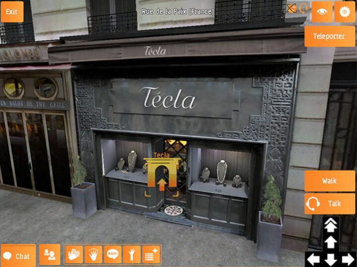 Promociona tu negocio en una Tienda virtual 3D en Viviwo