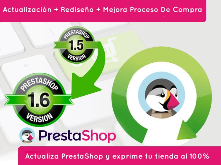 Actualiza tu tienda online con PrestaShop