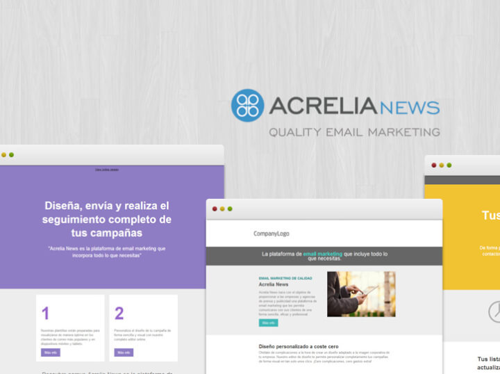 Haz tus campañas de Email Marketing con Acrelia News