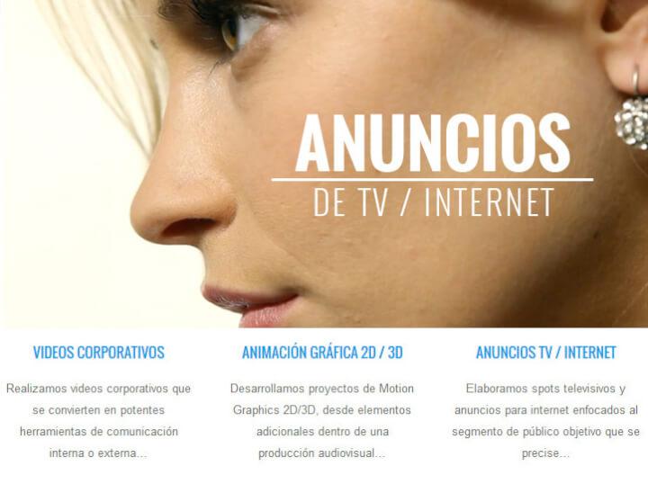 Servicios audiovisuales y publicitarios