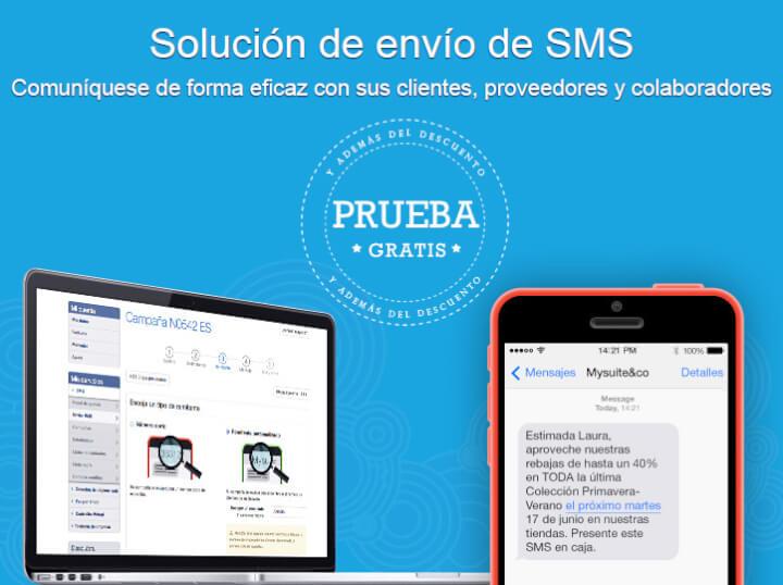 Promociona tu empresa por SMS. ¡25 SMS GRATIS!