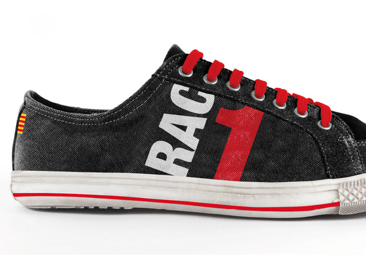 Zapatillas personalizadas con la imagen de tu empresa