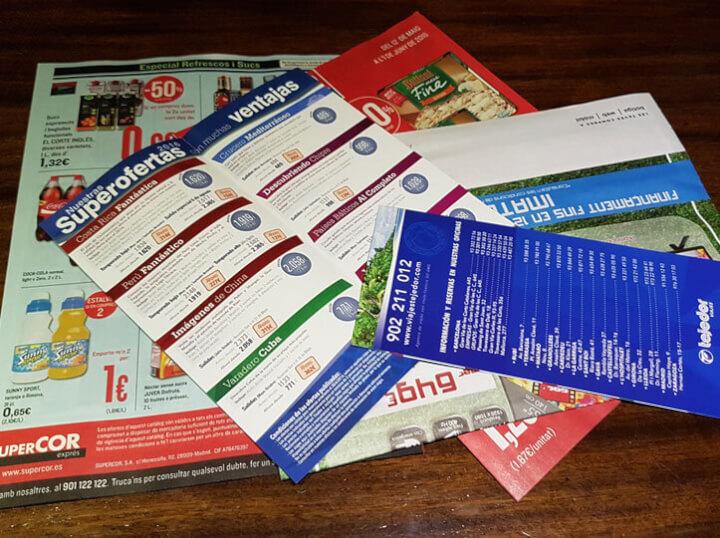 Reparto de folletos en tu ciudad