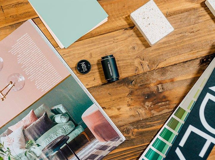 Carta de colores NCS + colorímetro con Idecolor