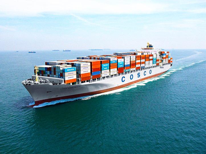 Trasporte de mercancías hacia América Latina