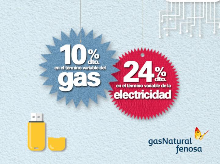 Luz y gas con Gas Natural Fenosa<br>