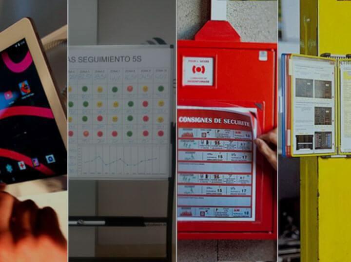 Productos de señalización y de gestión visual