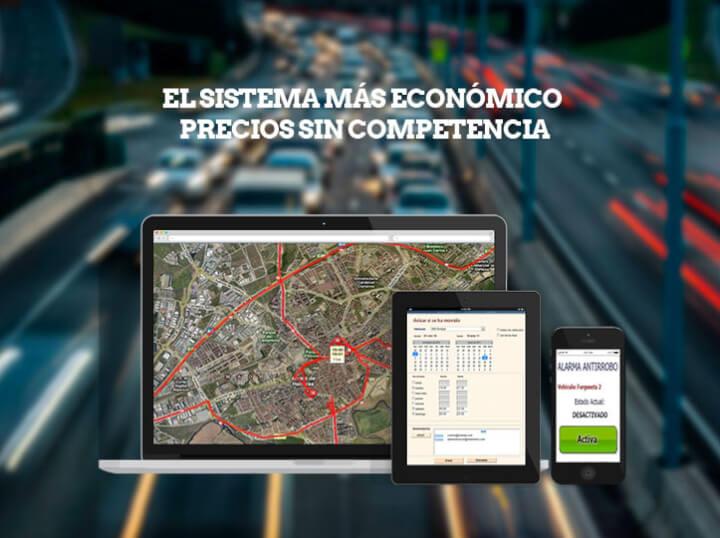 Sistema para geolocalizar los móviles y vehículos de tu empresa