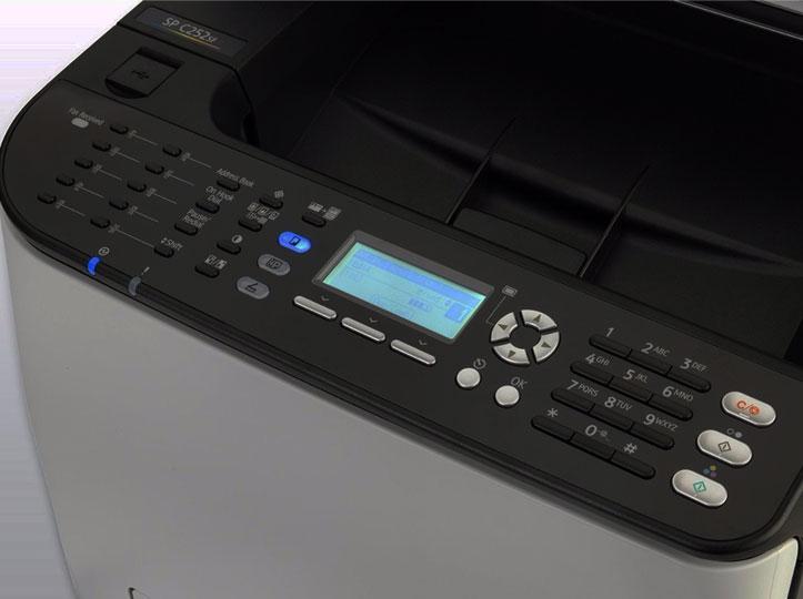Impresora multifunción RICOH SP c252F con pago por copia