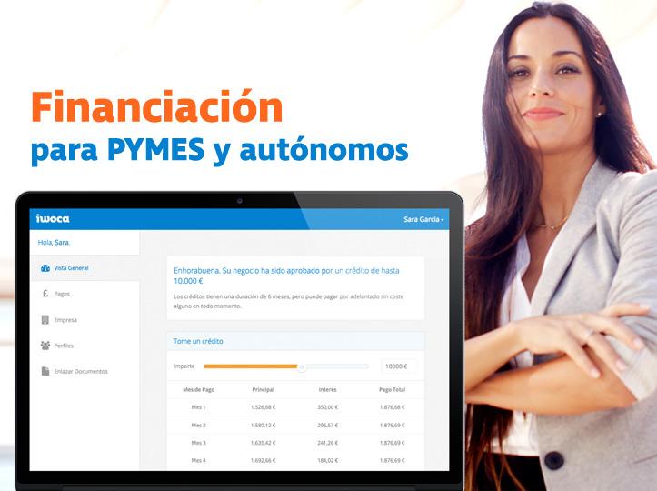 Financiación para pymes y autónomos