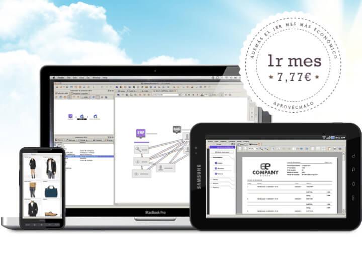 Software de gestión comercial en la nube