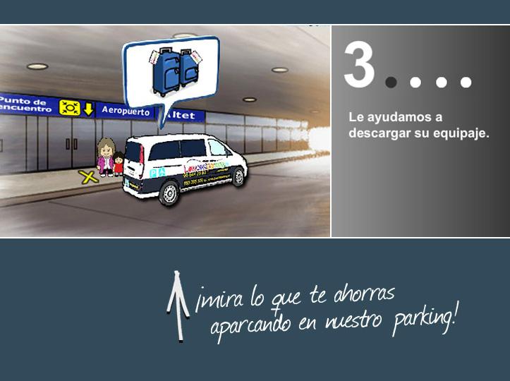 Parking low cost en el aeropuerto de Mallorca y Alicante