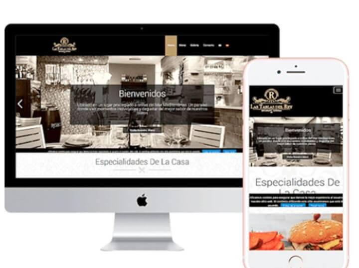 Diseño web para restaurantes
