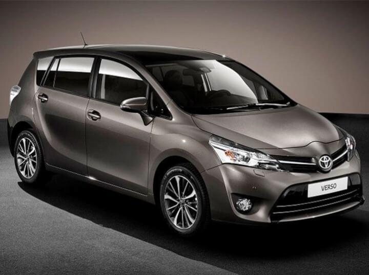 Renting de un Toyota Verso con unas condiciones únicas