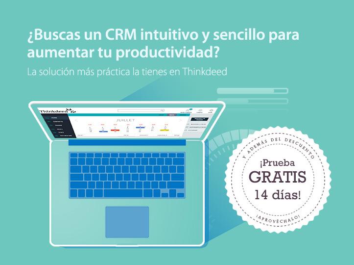 ¡Un CRM fantástico y sencillo de usar!