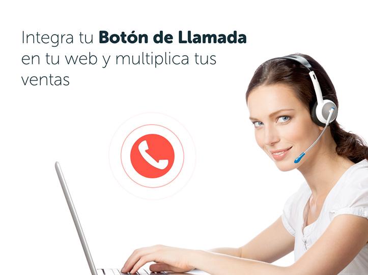 Integra el botón de llamada en tu web y multiplica tus ventas