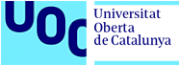 logotipo UOC X