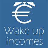 logotipo Wake up incomes