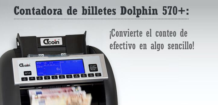 Contadoras y detectores de billetes falsos