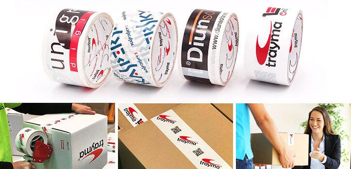 Cinta adhesiva personalizada con tu logo