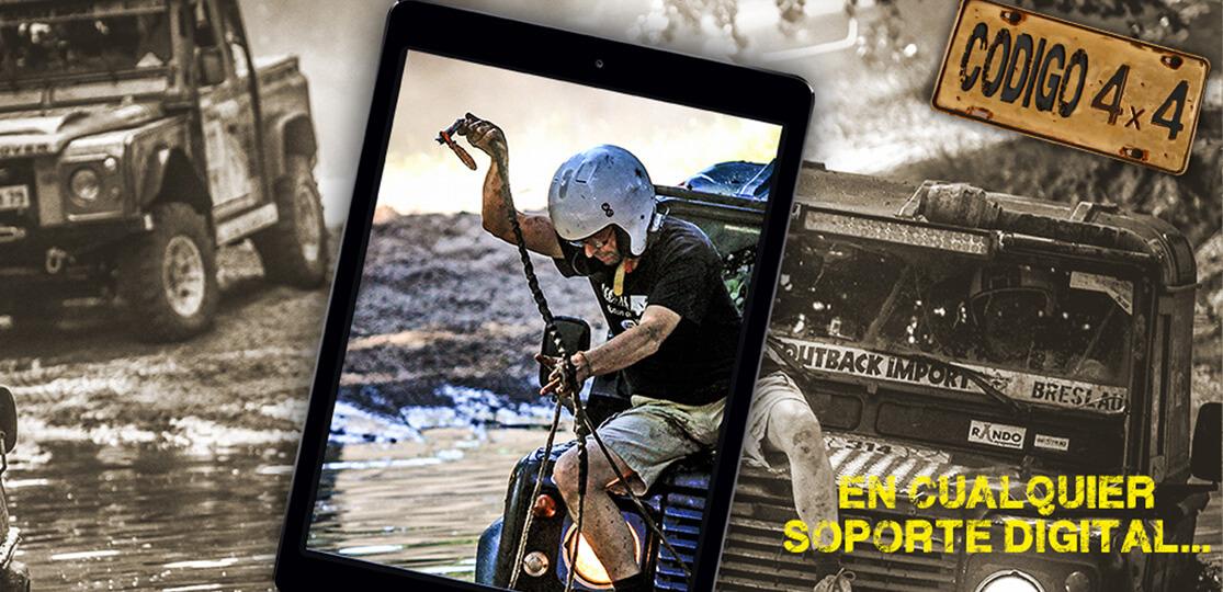 Publicita tu negocio en Código 4x4, la revista digital del motor