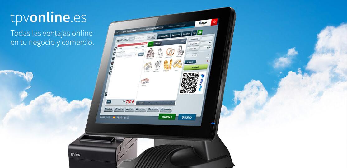 TPV online integrado en tu tienda electrónica